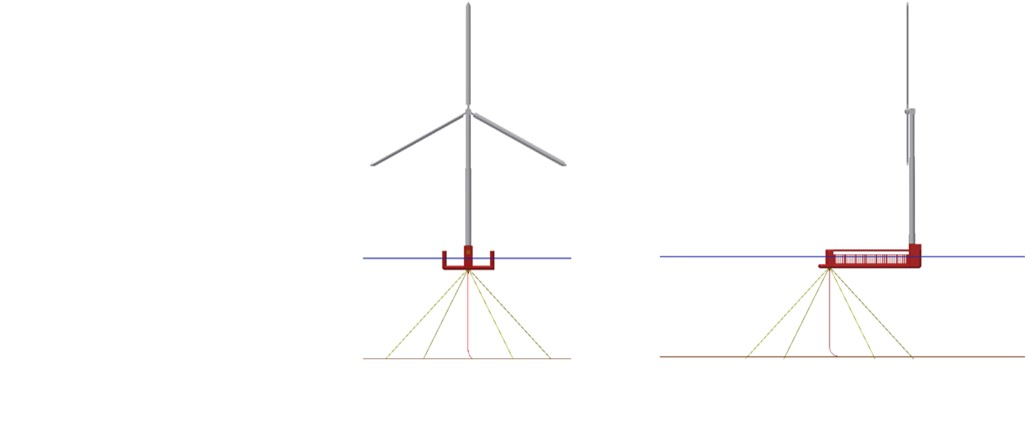 Spintral Floating Wind Structure